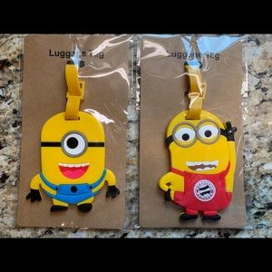 Other - Minion Luggage Tags Set